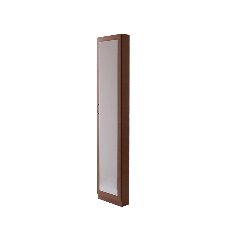 Cipős szekrény 1 ajtós tükrös